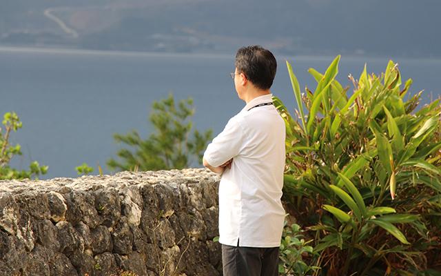 2. 大海原を前に壮大なビジョンを描ける